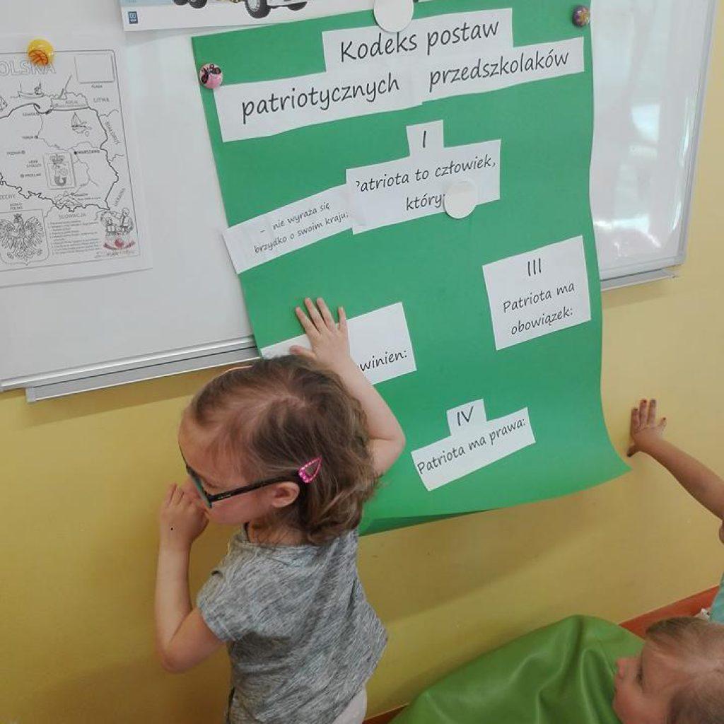 Realizacja Konkursu Tęczowa Kraina Przedszkole środa Wlkp